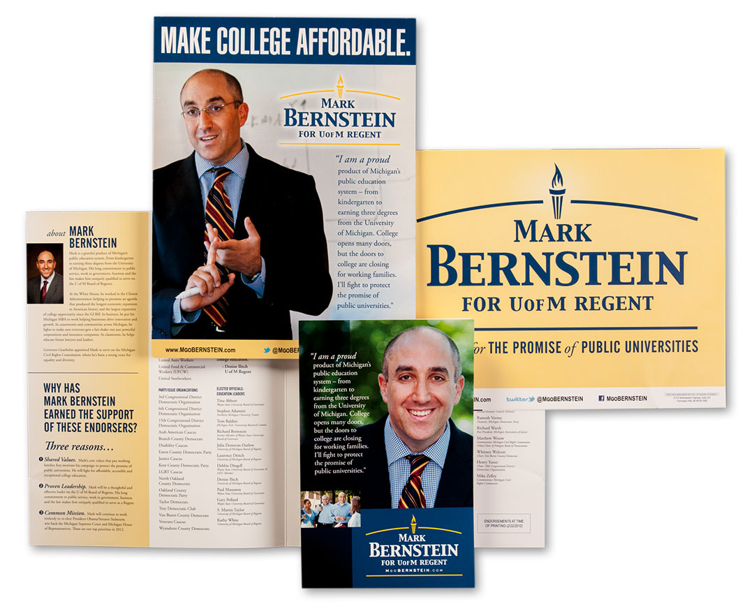 Mark Bernstein Campaign for University of Michigan Regent