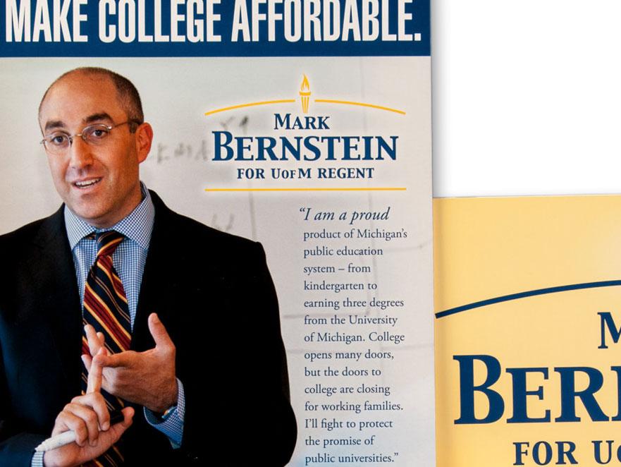 Mark Bernstein Campaign for University of Michigan Regent