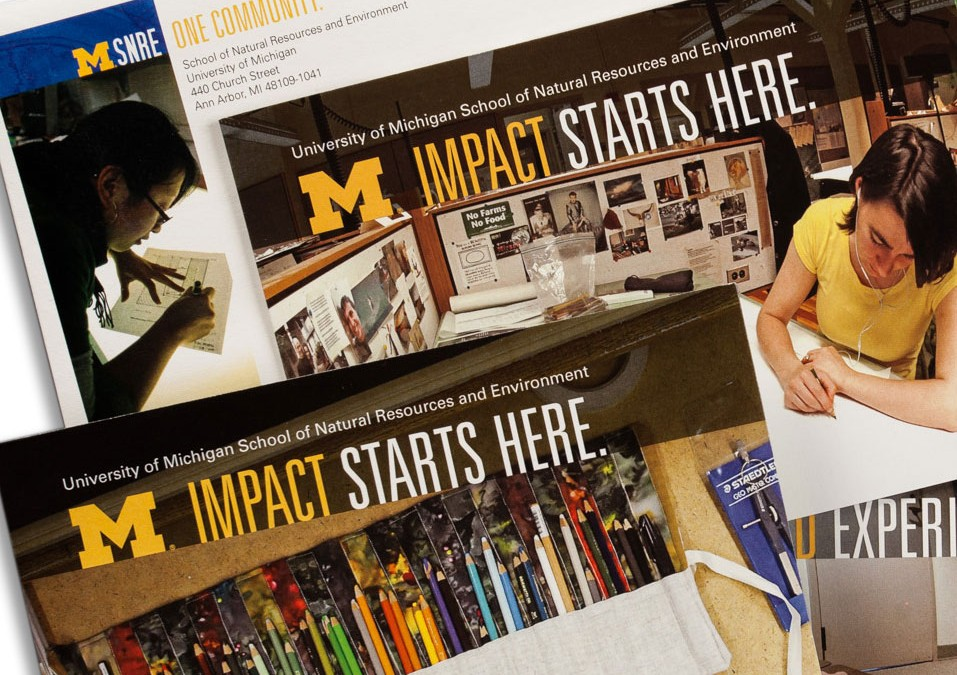 University of Michigan School of Natural Resources and Environment Alumni Direct Mail Campaign