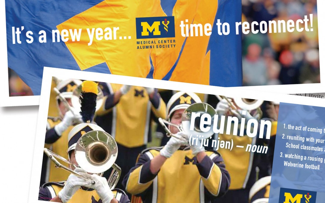 University of Michigan Medical School Direct Mail Campaign