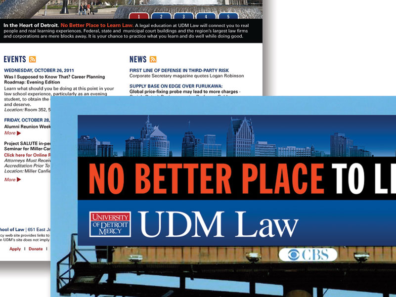 University of Detroit Mercy School of Law Campaign