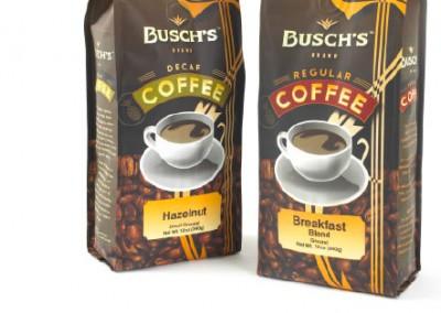 Busch's Grocery Store Branding