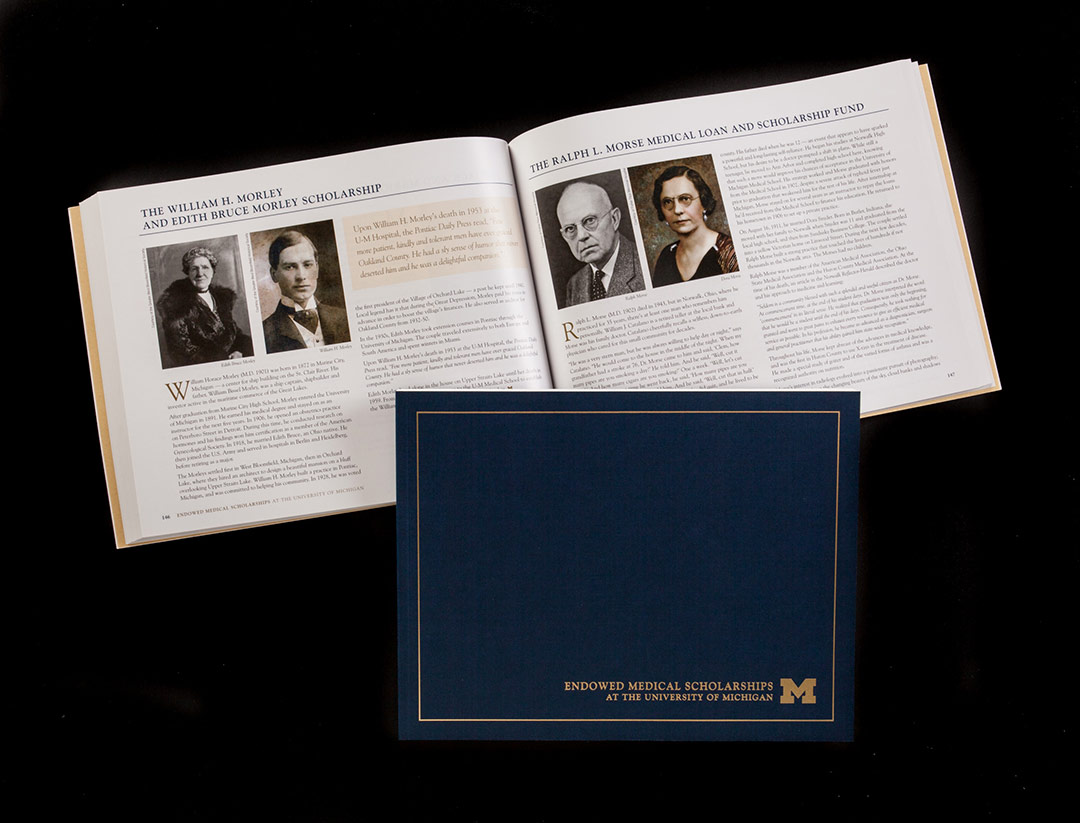 UMED Endowed Scholarships Book