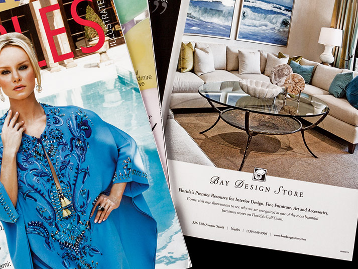 Bay Design Store Magazine Ads