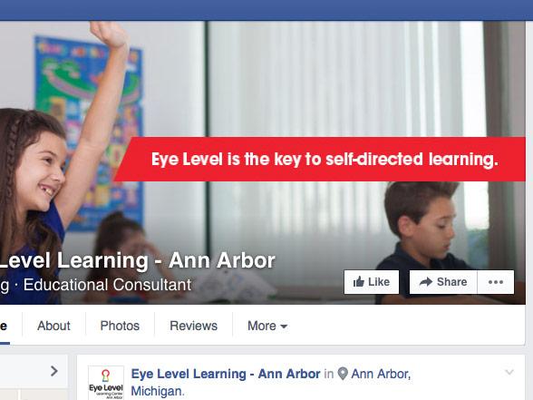 Eye Level Learning Center Ann Arbor Social Media