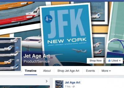 Jet Age Art Social Media