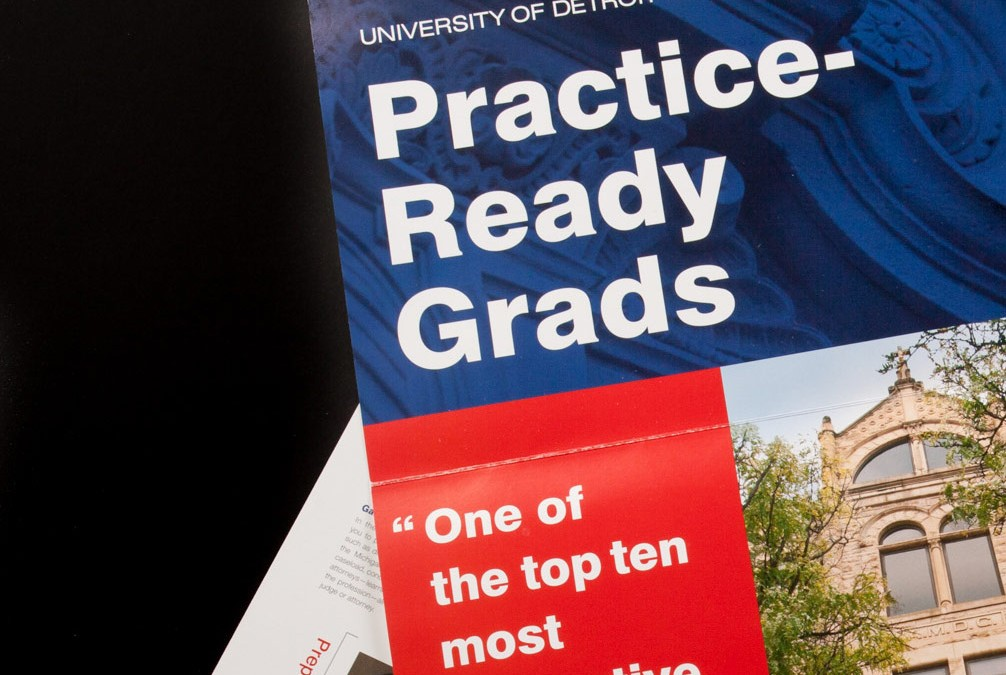 University of Detroit Mercy School of Law Admissions Campaign