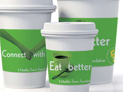 Five Healthy Towns Identity and Campaign