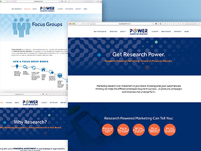 Power Marketing Research Website