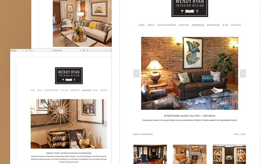 Wendy Ryan Interior Design Website