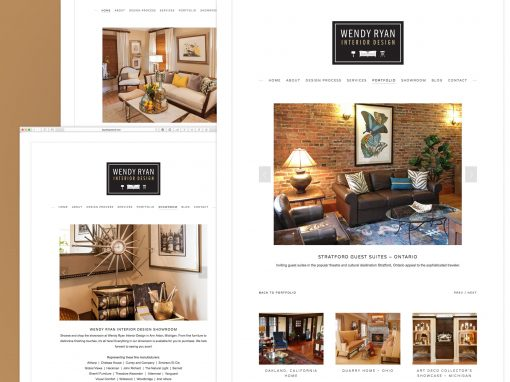 Wendy Ryan Interior Design Website