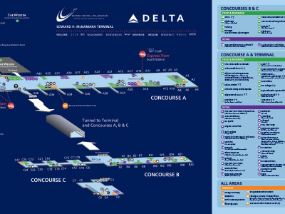 Detroit Metro Airport and Delta Airlines