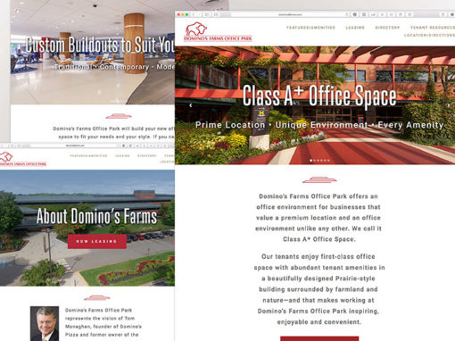 Domino's Farms Office Park Website